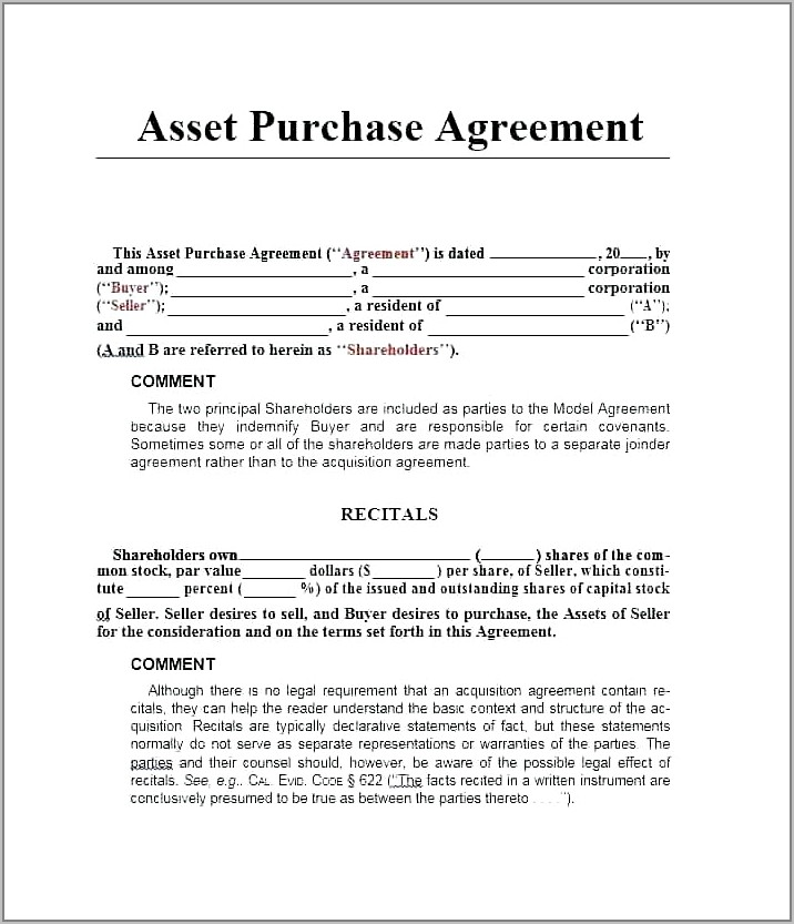 Stock Transfer Agreement Template Free