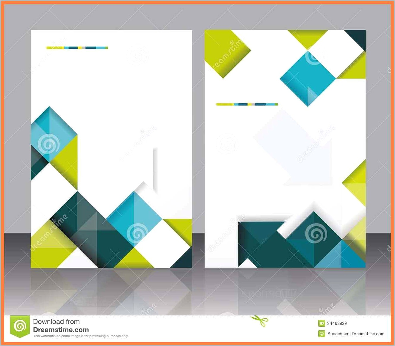 Template Booklet Free Download