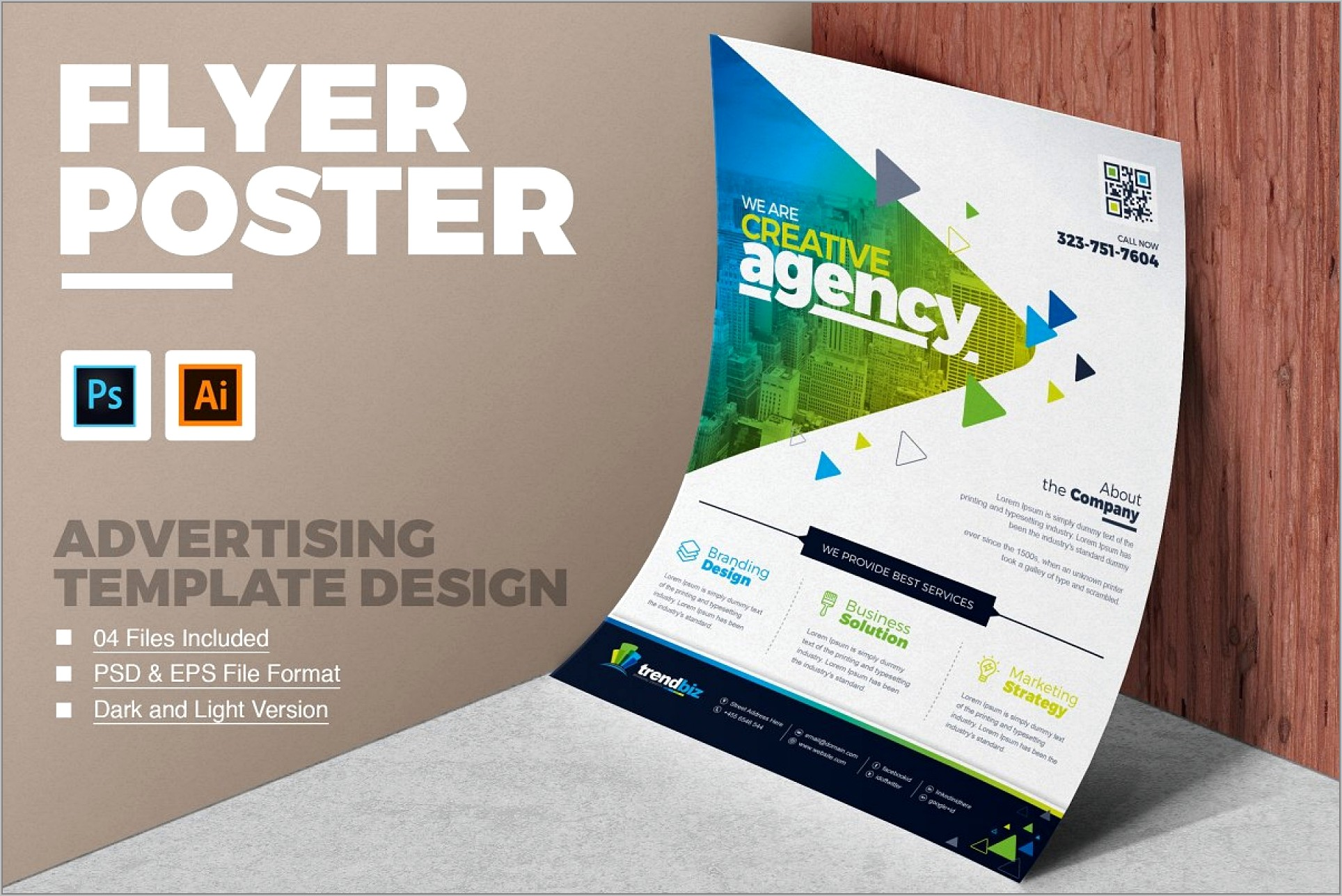 Template Design For Flyers