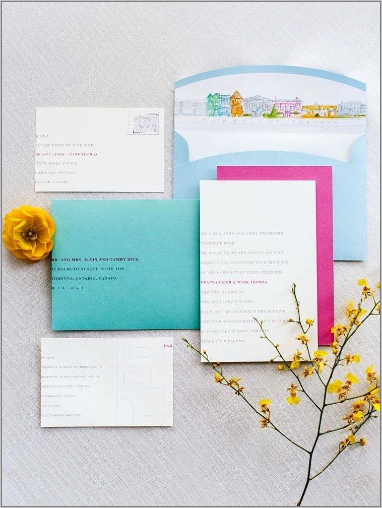 Template For Addressing Envelopes By Hand