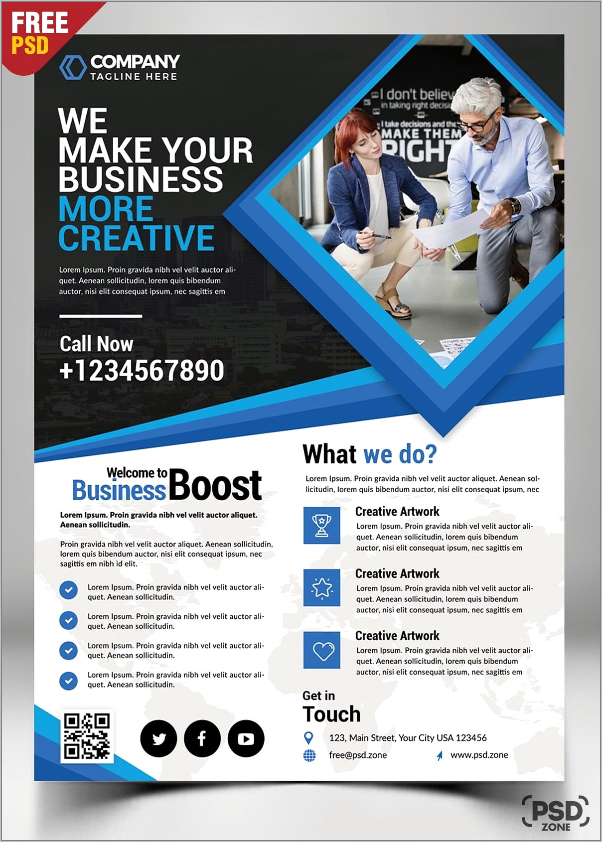 Template For Business Flyers