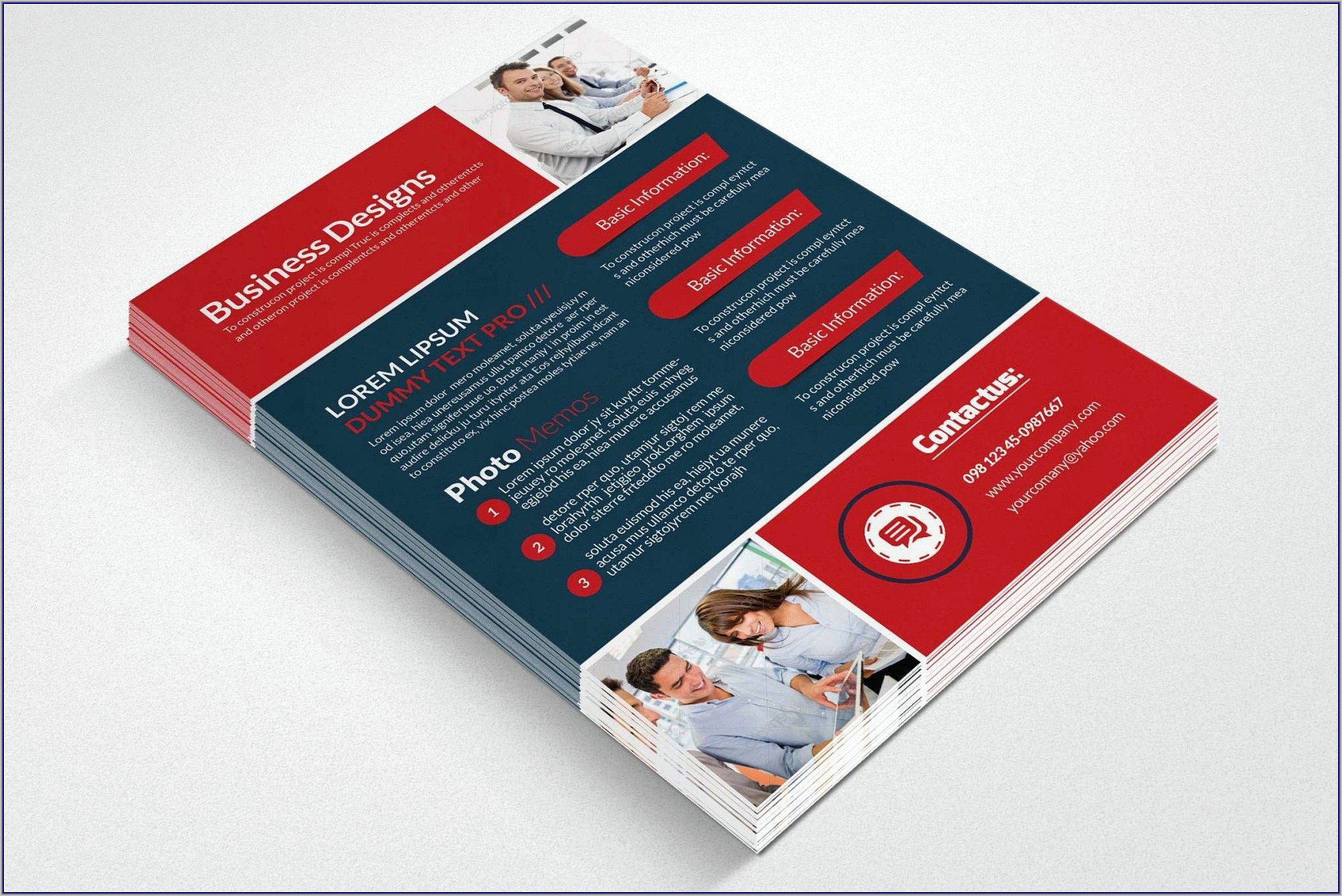 Template For Flyer Free Download