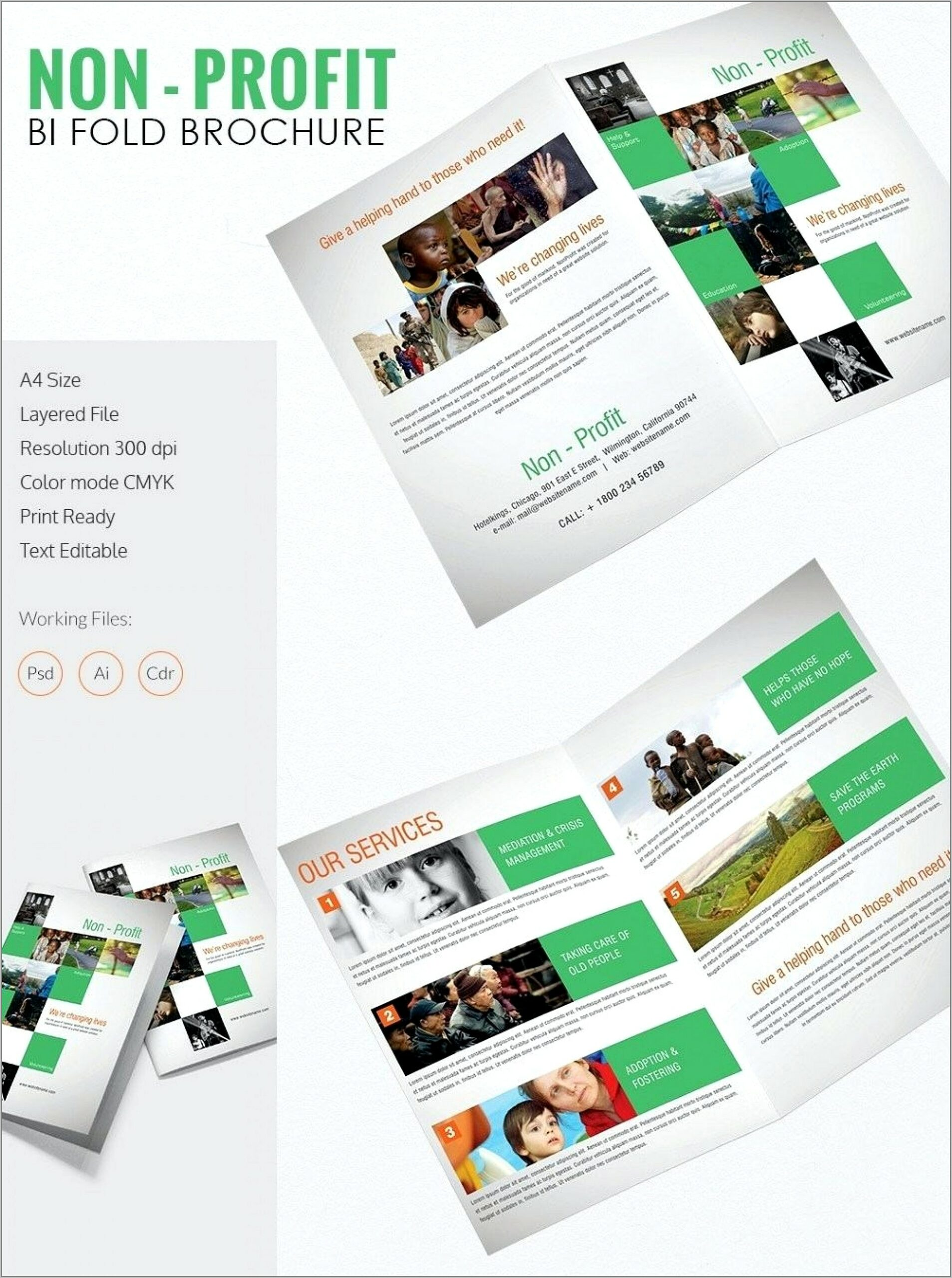 Template For Indesign Brochure