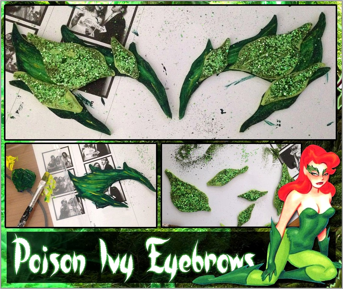Template For Poison Ivy Eyebrows