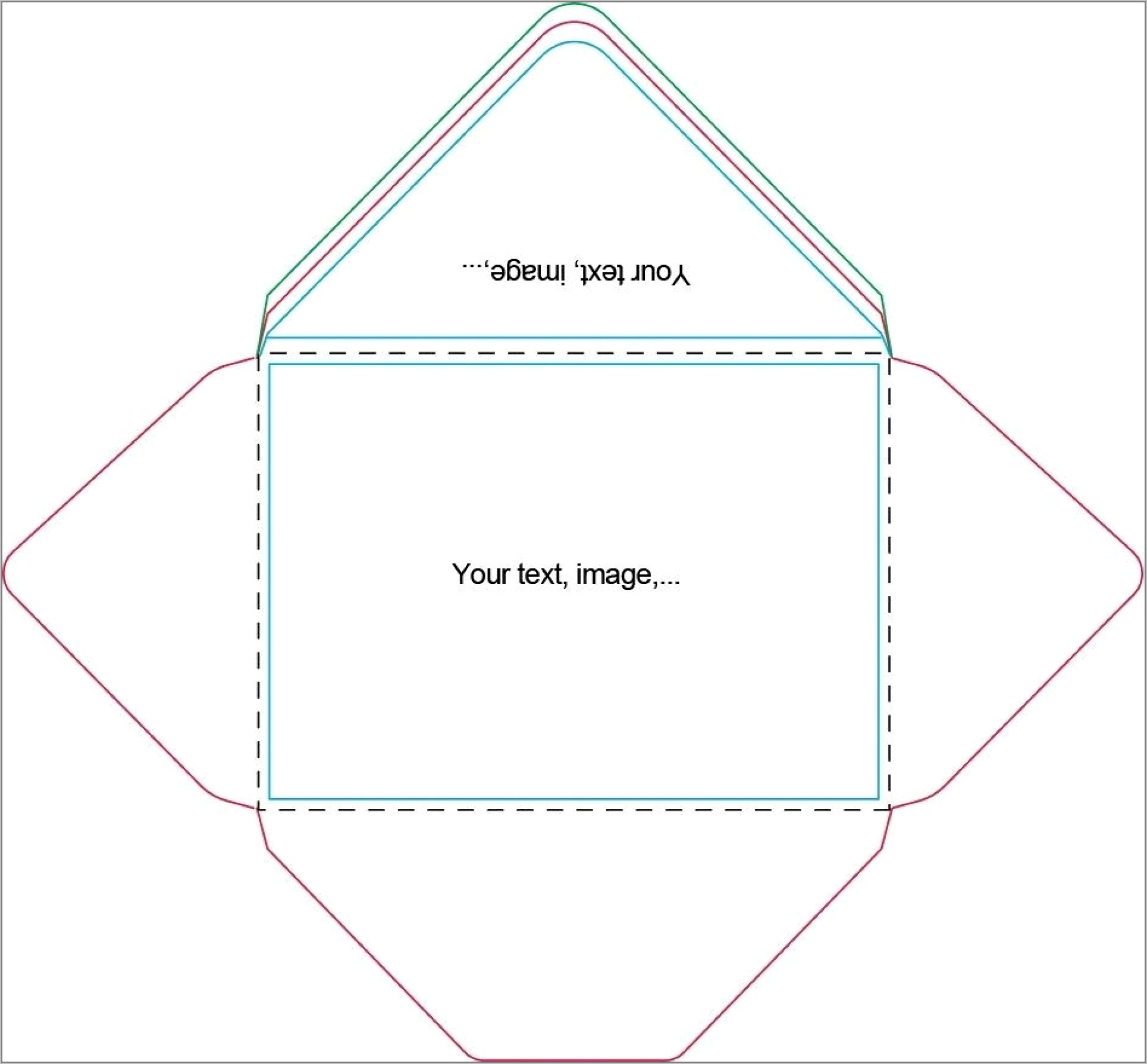 Template To Print Envelope