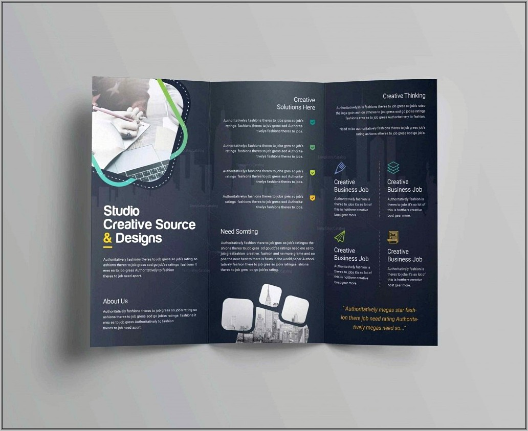 Templates For Brochures Microsoft Word