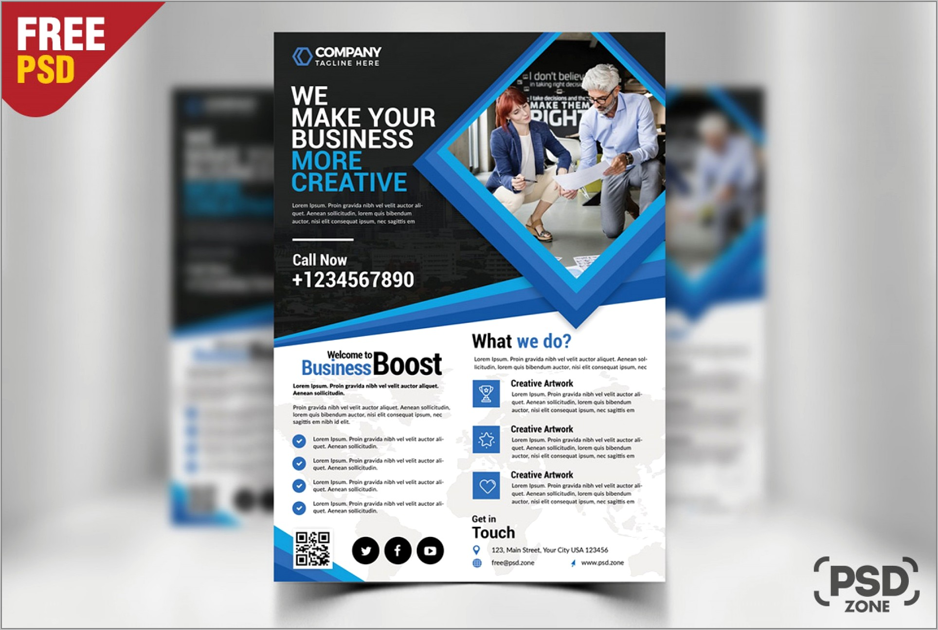 Templates For Business Flyers Free