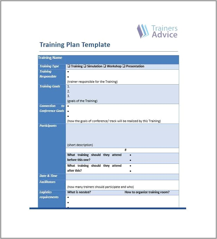 Templates For Business Training Manuals