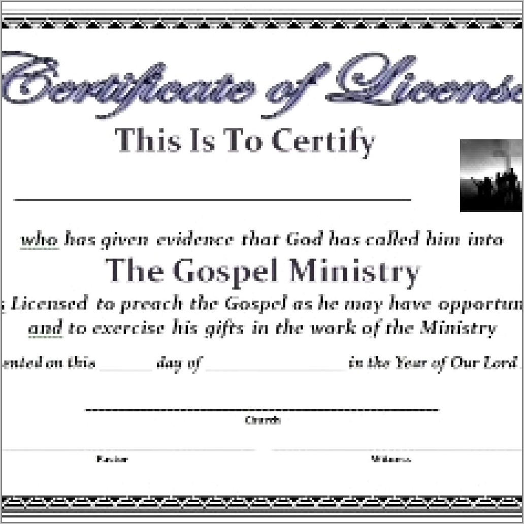 Templates For Certificate Of Appreciation