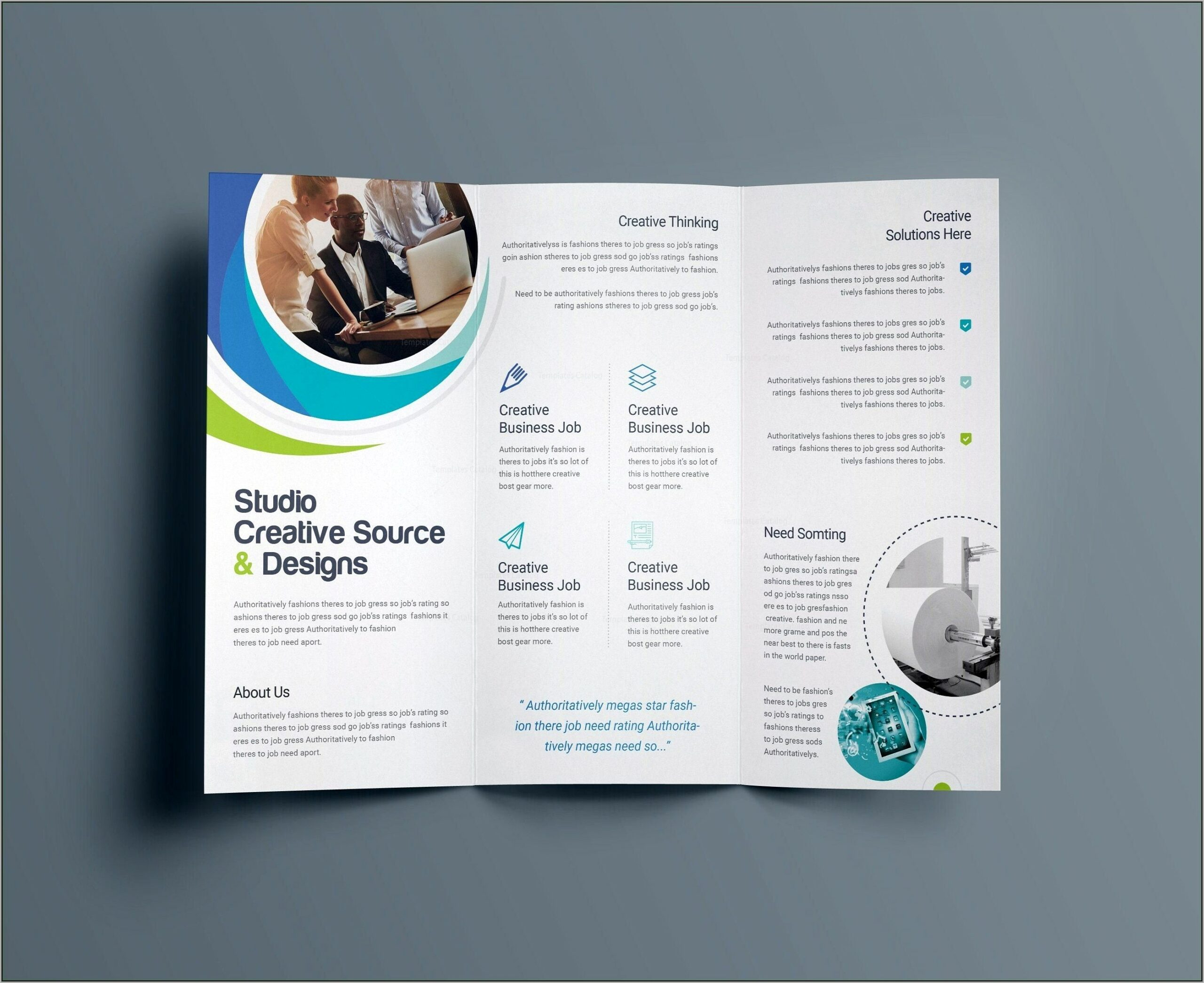Templates For Flyers And Brochures Free