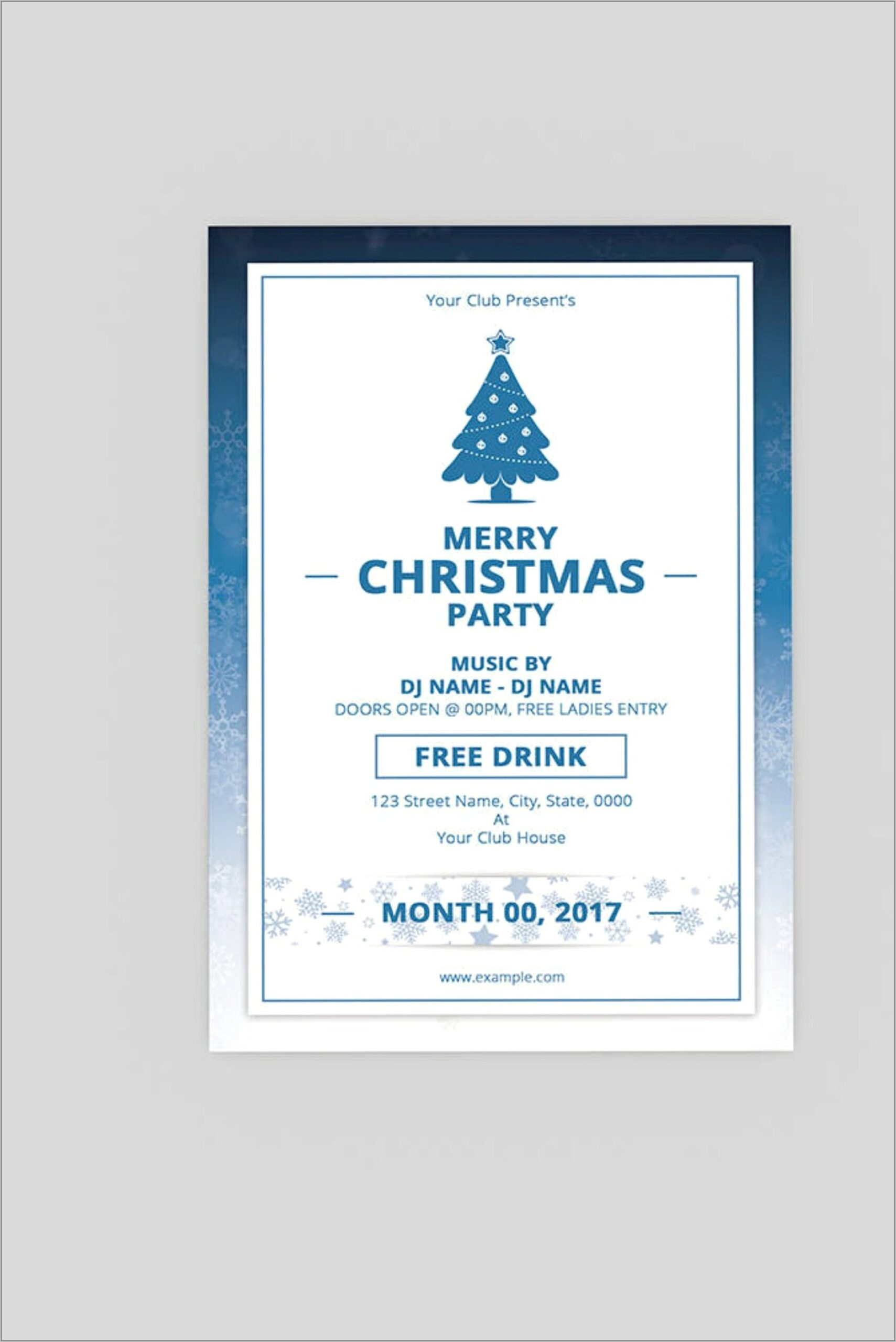 Templates For Flyers In Word
