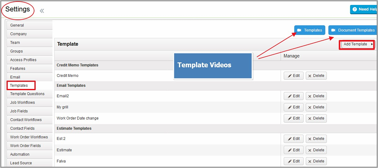 Templates For Invoices And Estimates