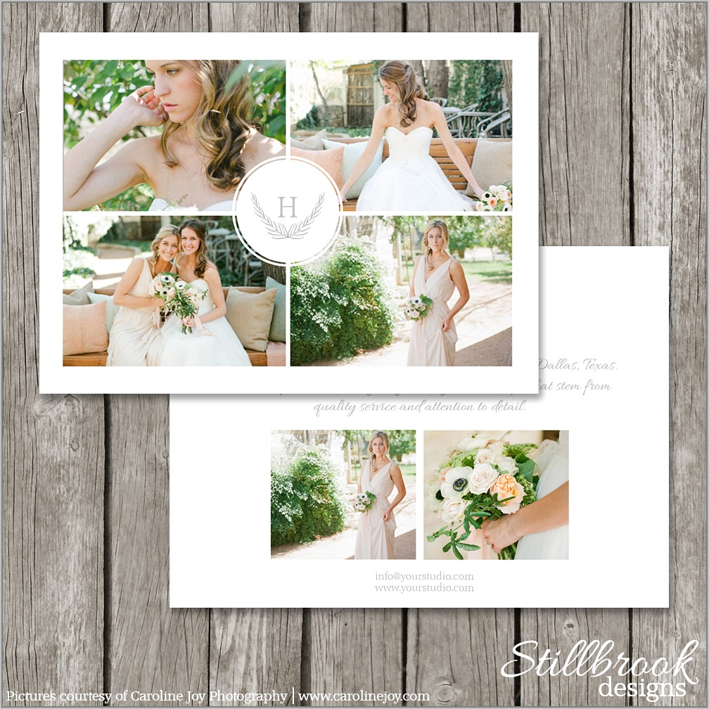 Templates For Photographers Marketing
