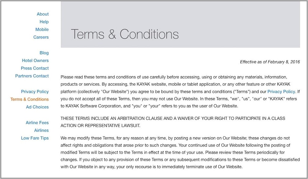 Terms And Conditions Of Sale Template Nz