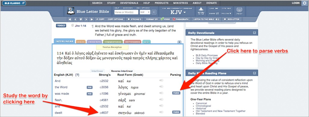 The Blue Letter Study Bible