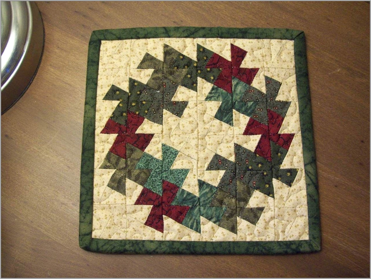 Twister Wreath Quilt Pattern