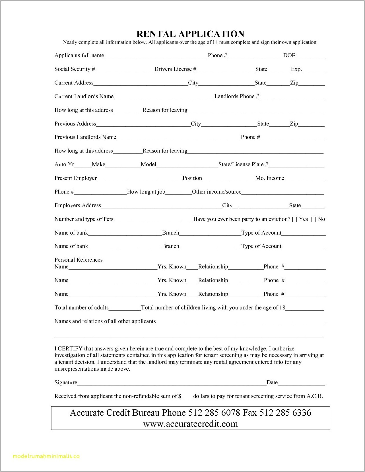 Used Car Agreement Template