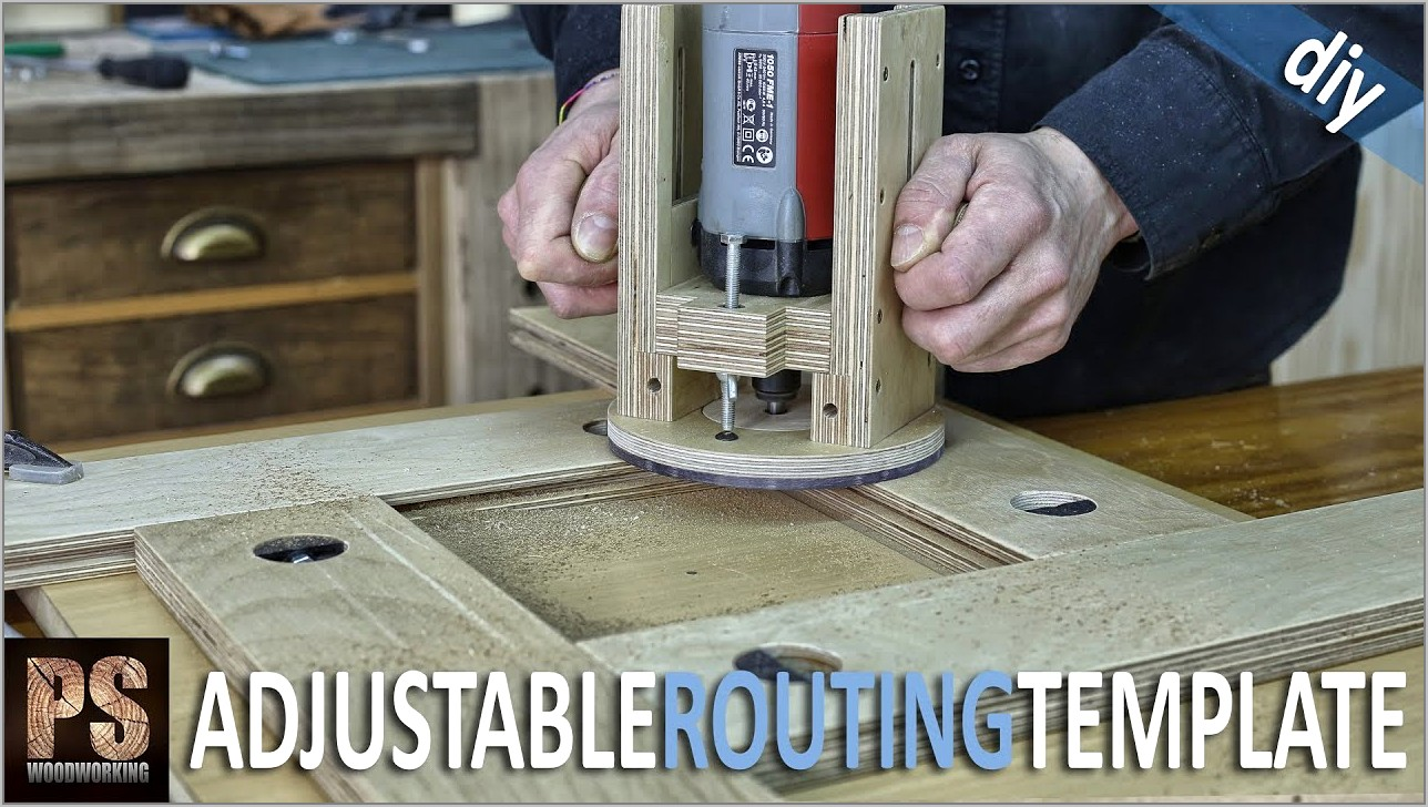 Using Wood Router Templates