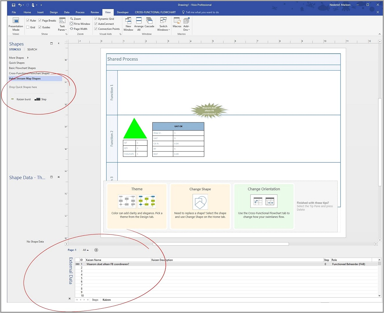 Value Stream Mapping Template Visio 2016