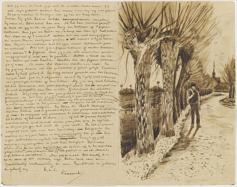 Van Gogh Letters To Theo Book