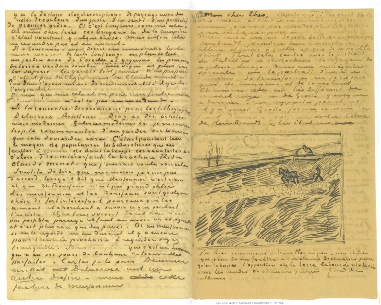 Van Gogh Letters To Theo Starry Night