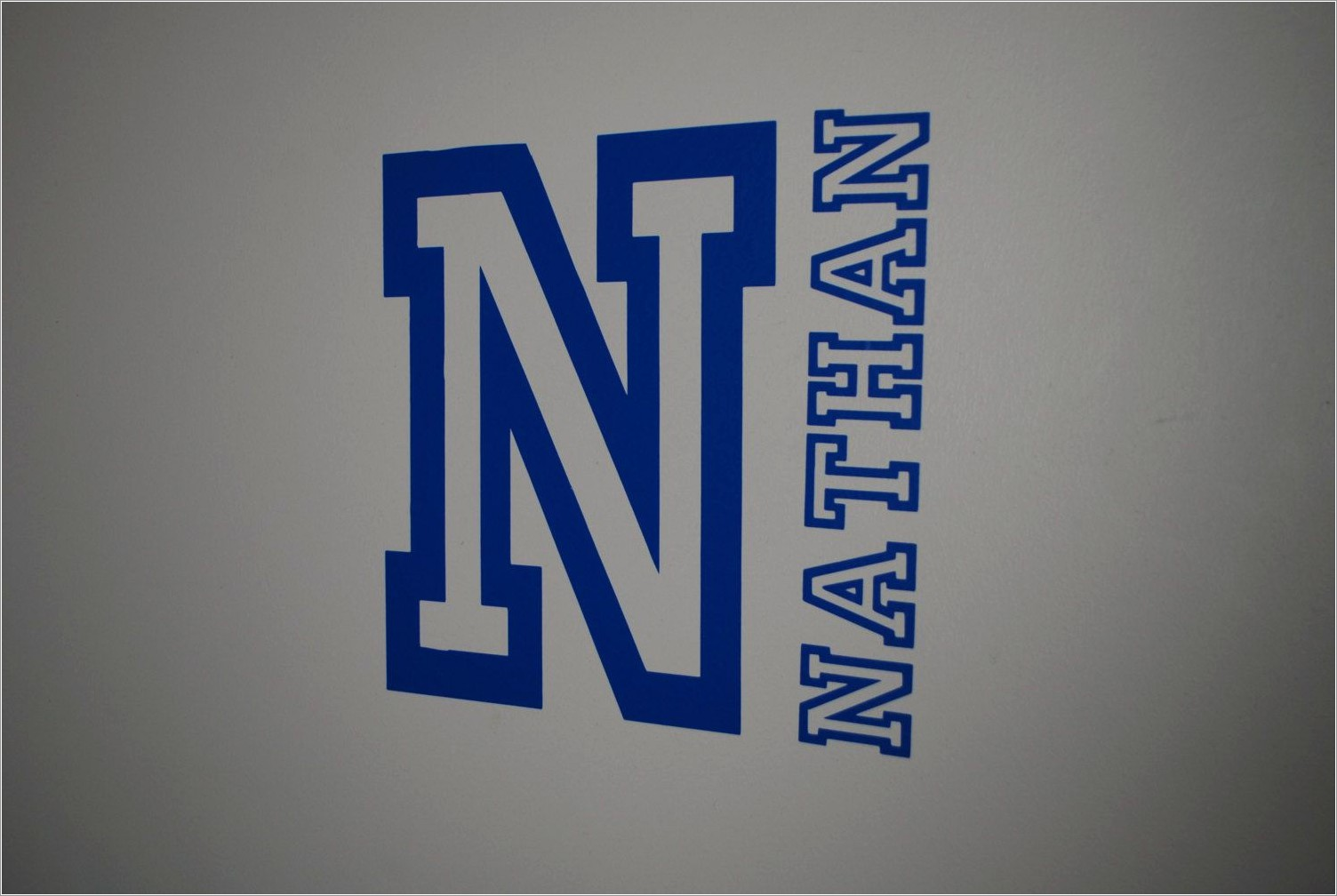 Varsity Letter Wall Decals