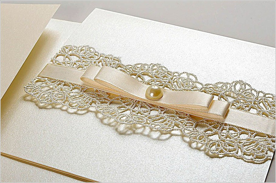 Vintage Lace Wedding Invitations Uk