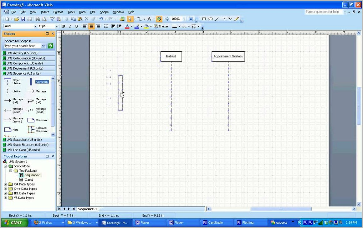 Visio 2010 Sequence Diagram Template Download