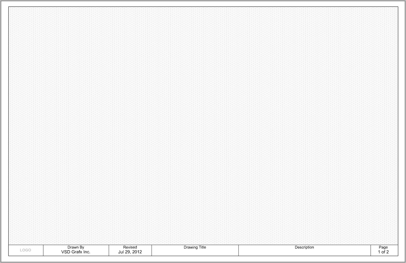Visio Mechanical Drawing Template