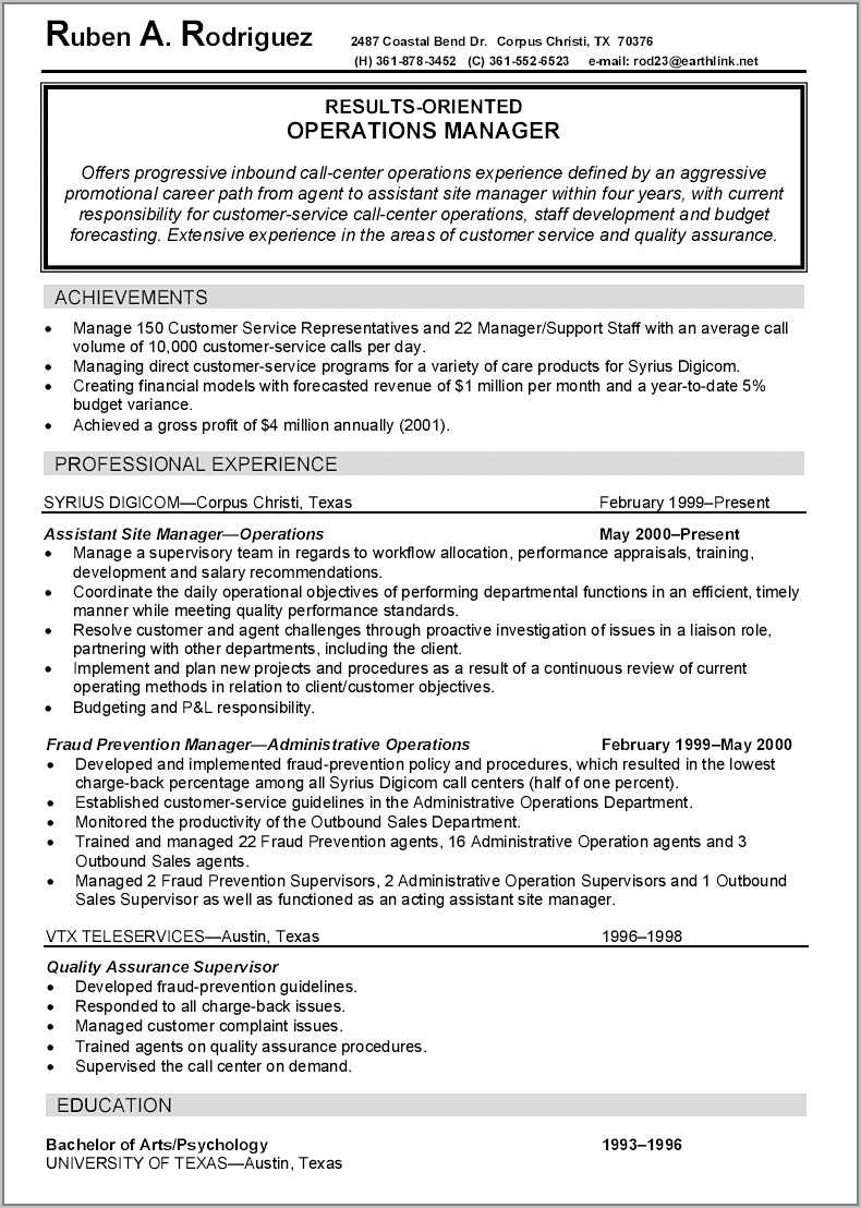 Warehouse Assistant Resume Template