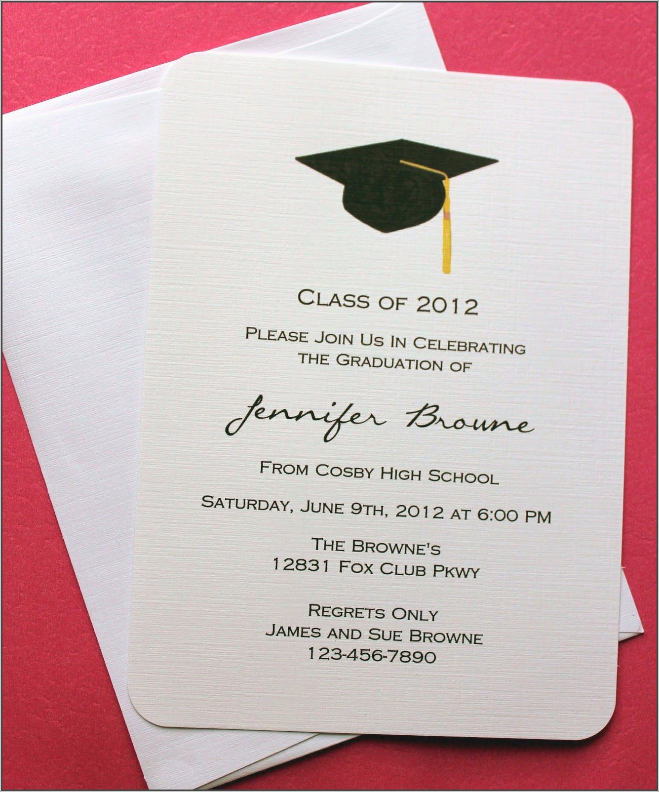 What Goes On A Graduation Invitation