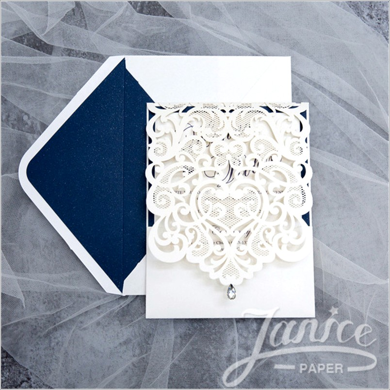 Wholesale Laser Cut Invitations