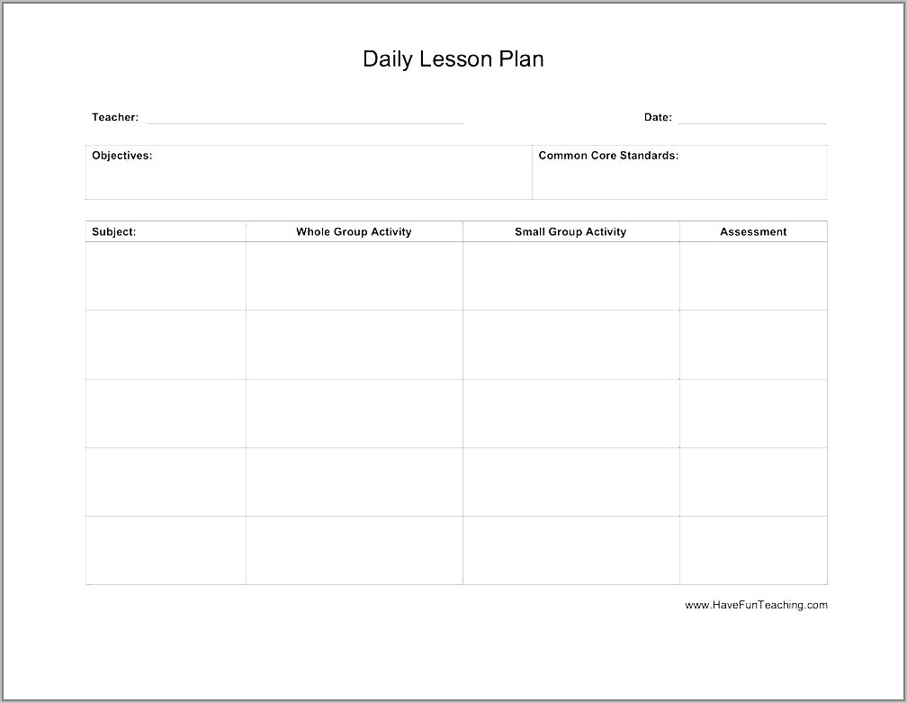 Wida Standards Lesson Plan Template