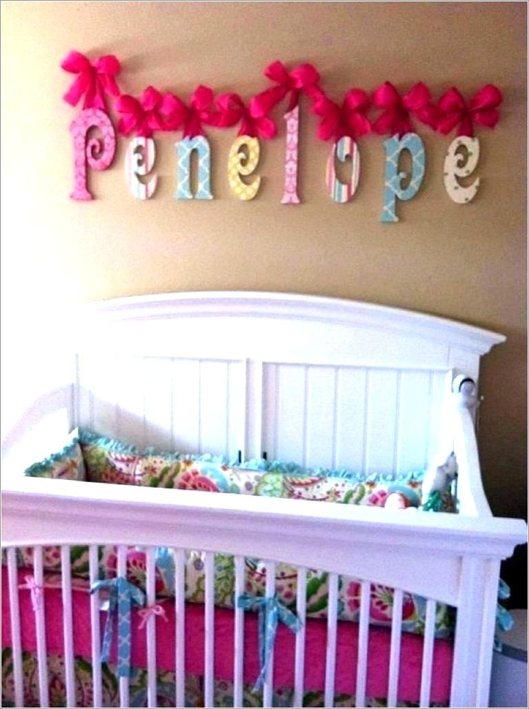 Wooden Letters For Baby Nursery Nz