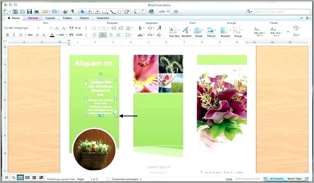 Word 2013 Booklet Templates