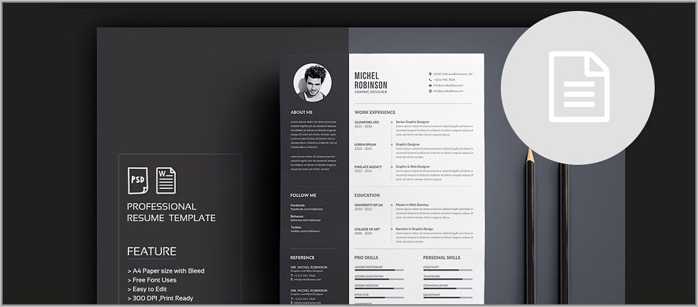 Word Templates For Resume Cover Letter