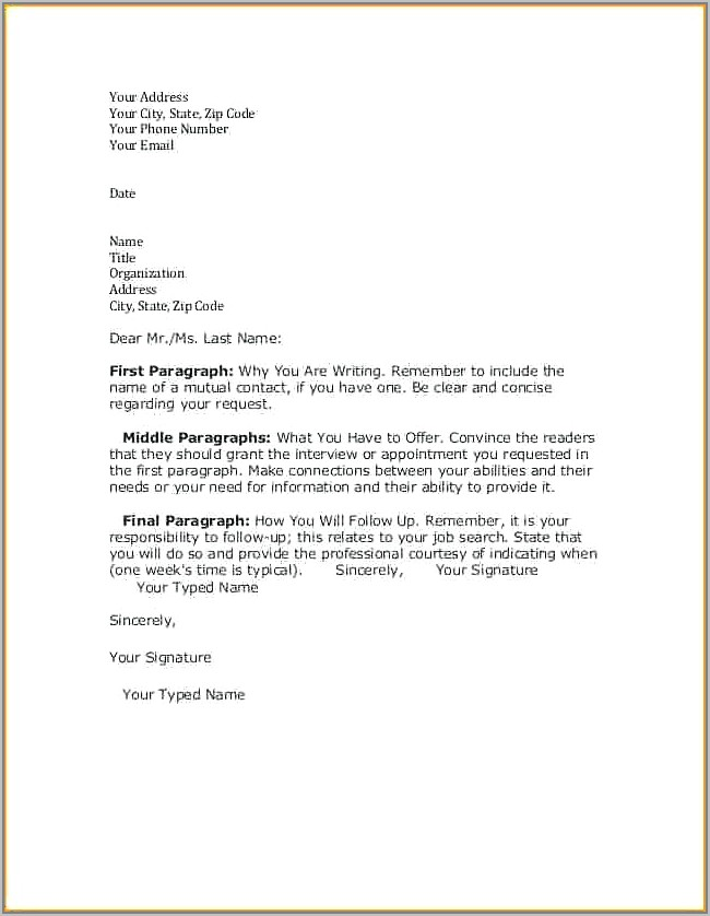 Write Resignation Letter Sample