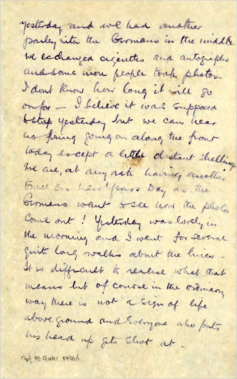 Ww1 Letters From The Trenches Ks2