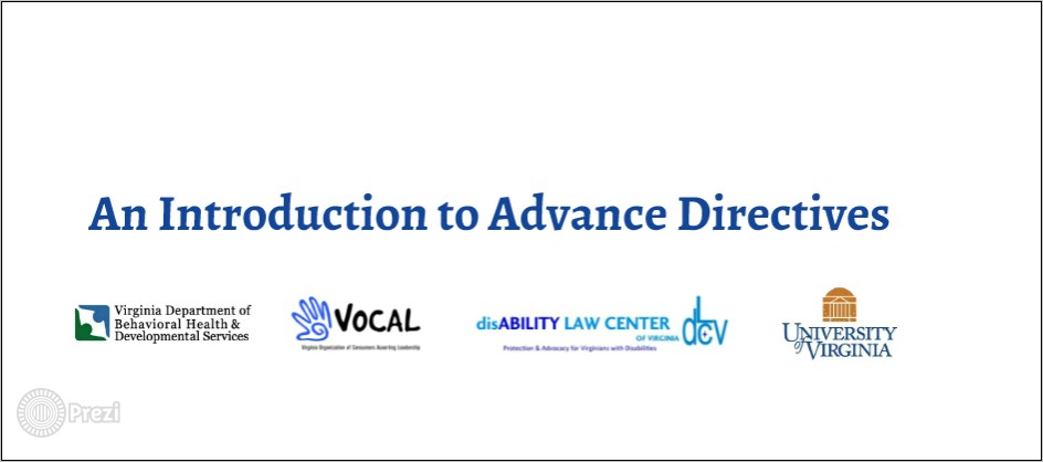 Advance Healthcare Directive Forms