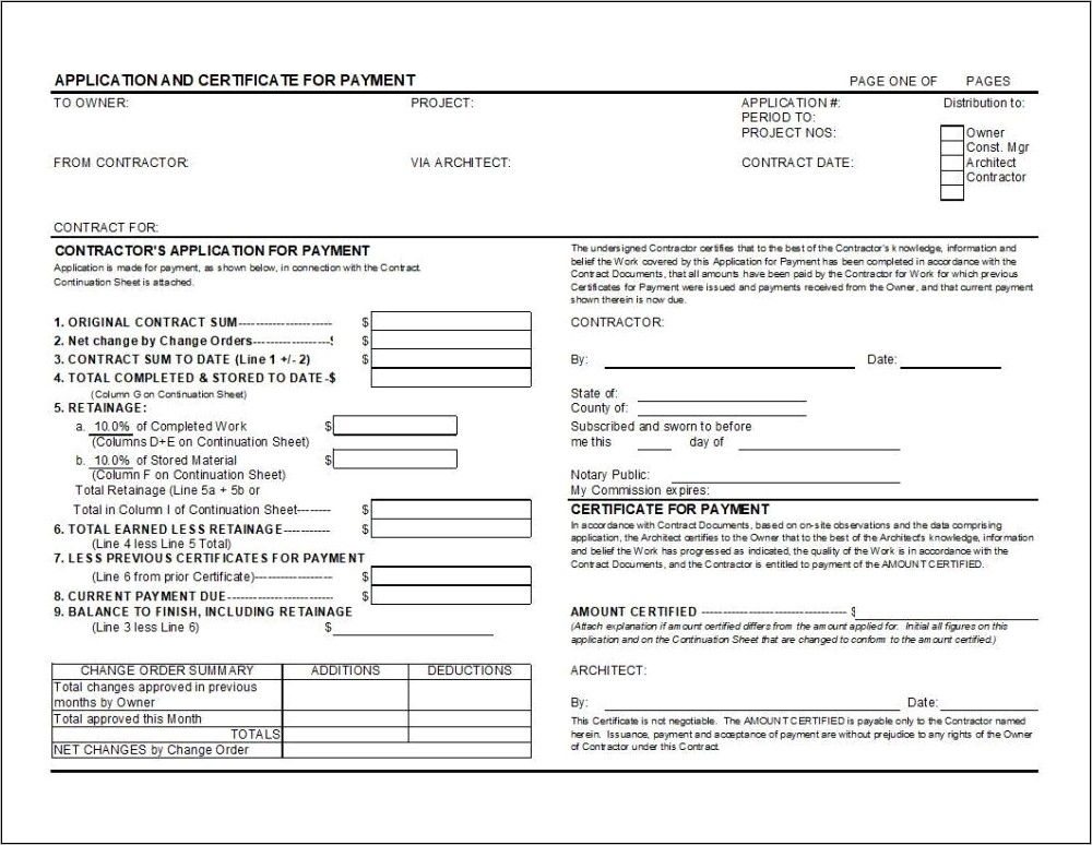 Aia Pay Request Form