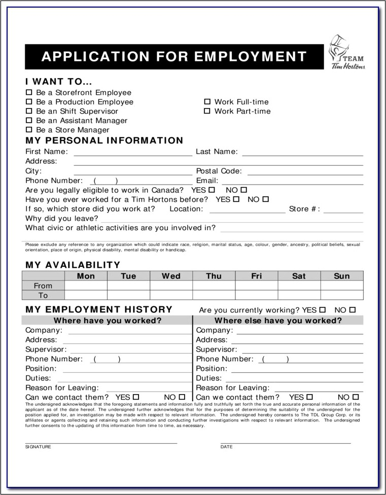 Application Form For Divorce In Canada