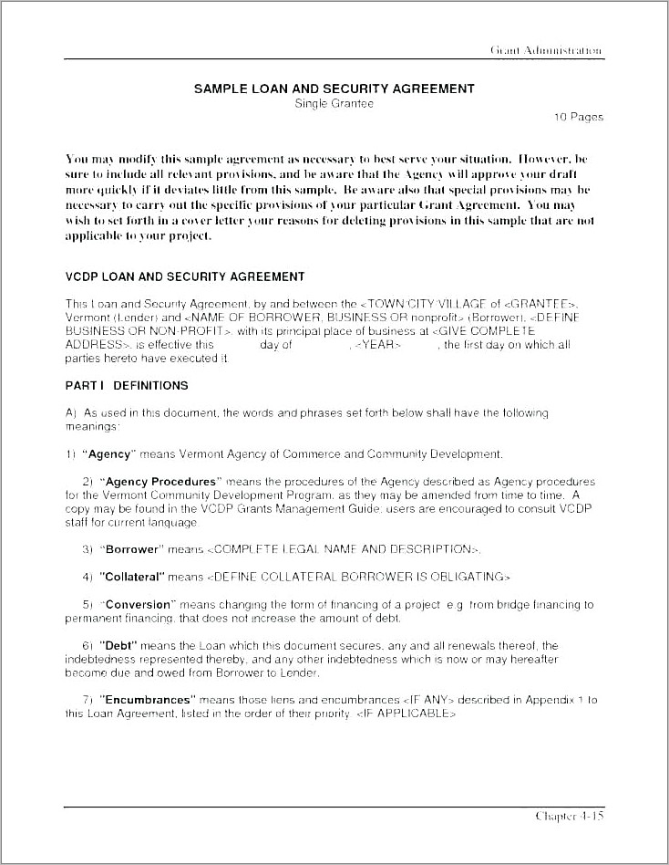 Artist Manager Contract Example
