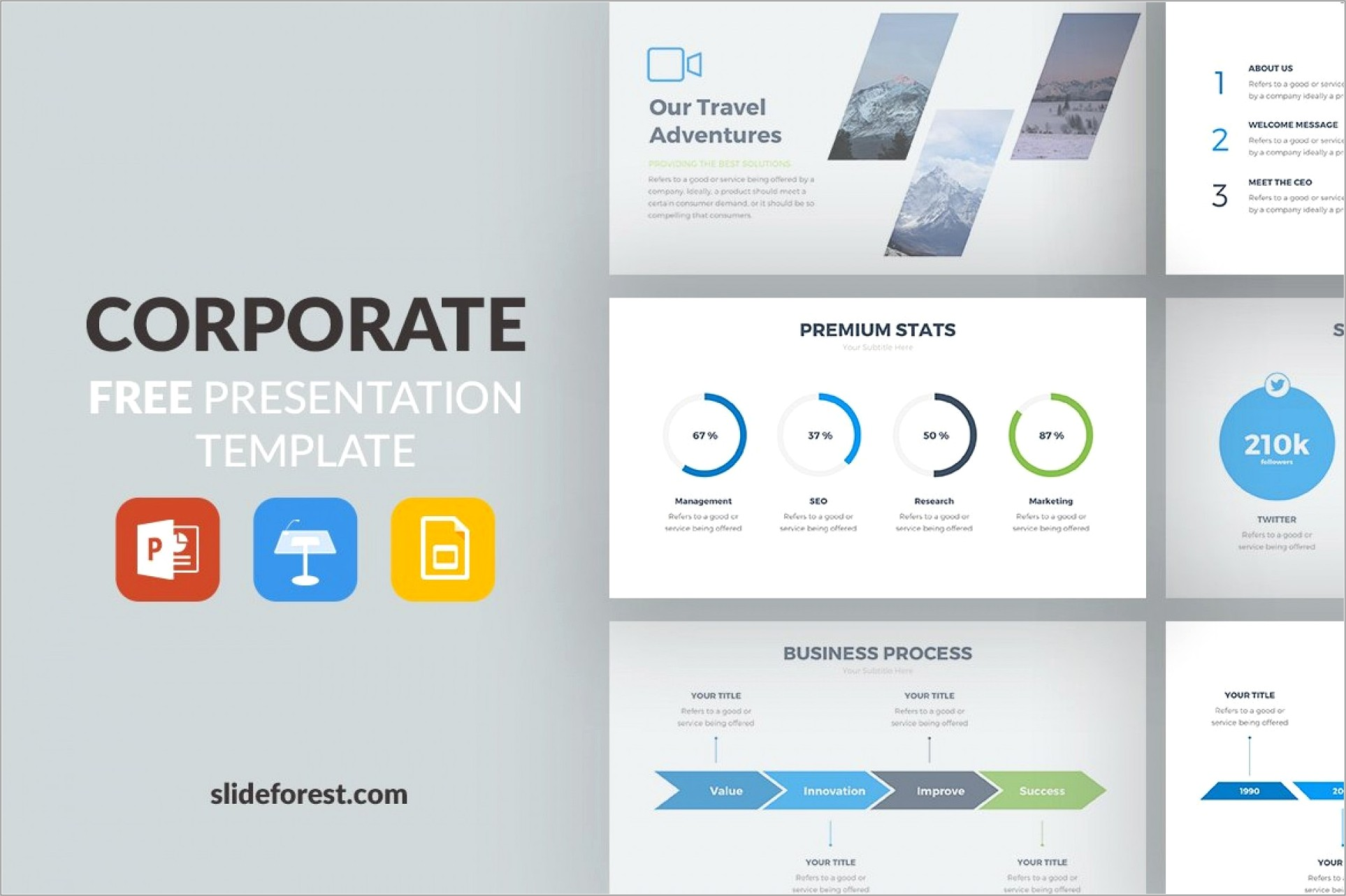 Best Ppt Templates For Business Presentation
