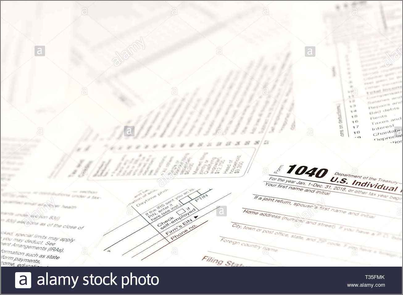 Blank 1040 Income Tax Form