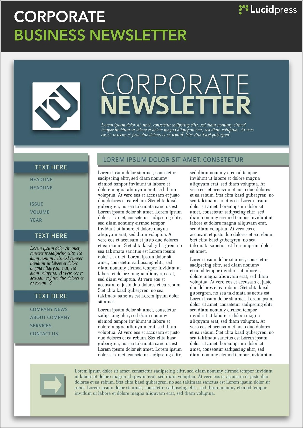 Business Newsletter Templates Word Free