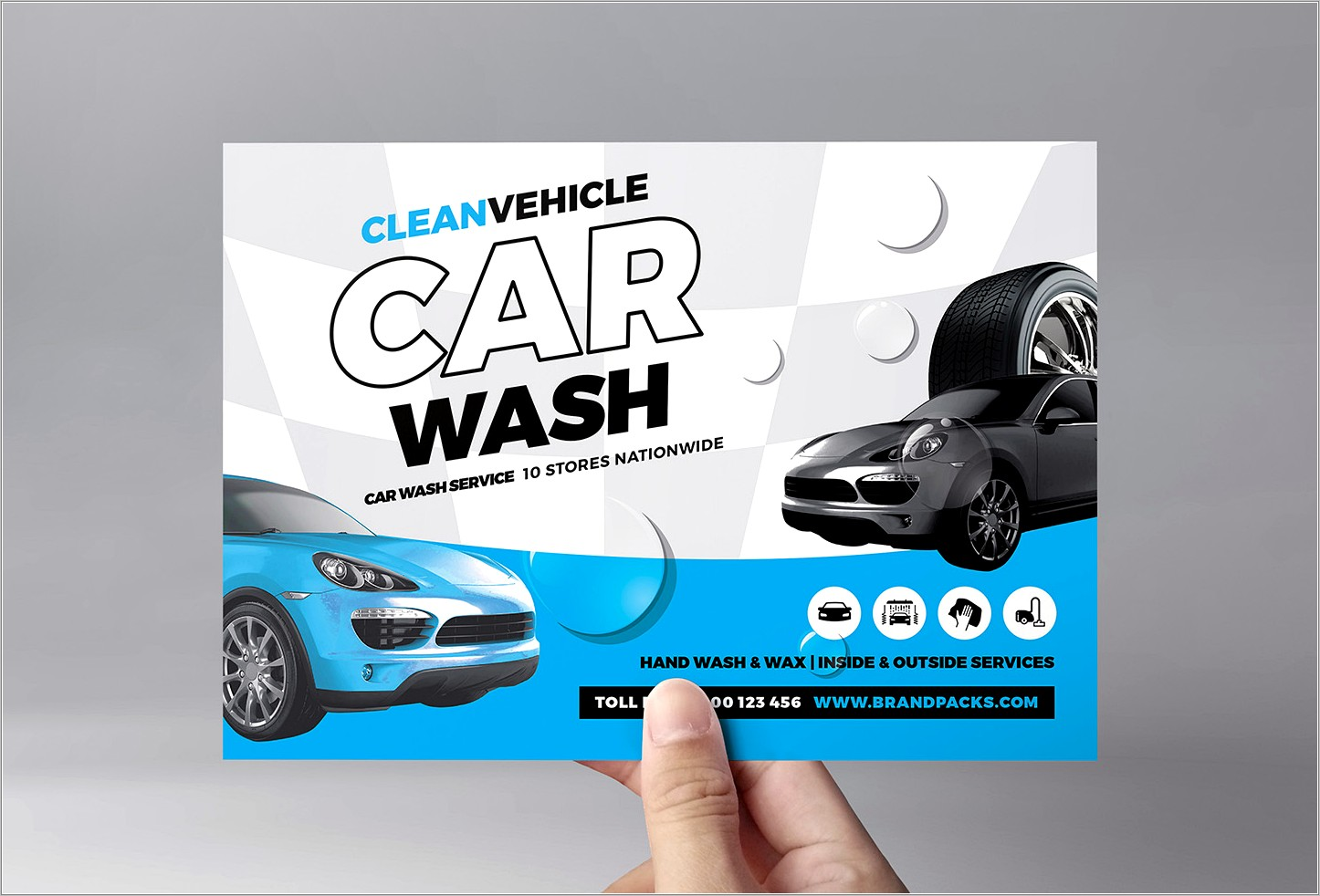 Car Wash Fundraiser Flyer Template Free