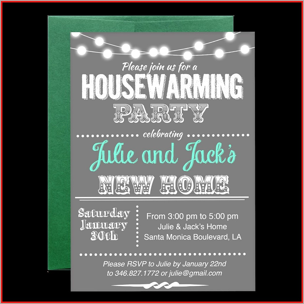 Christmas Open House Invitations Templates Free