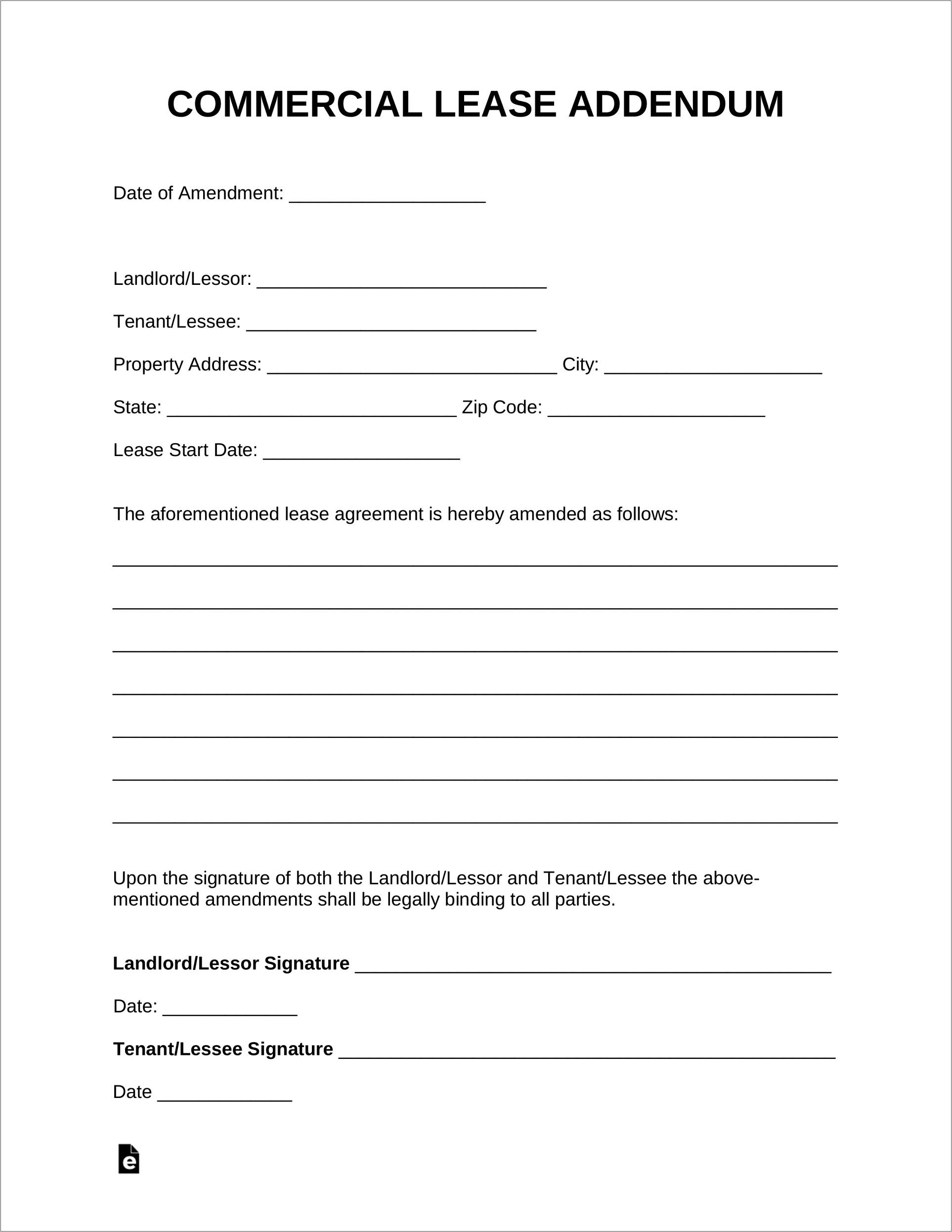 Commercial Lease Template Uk Free