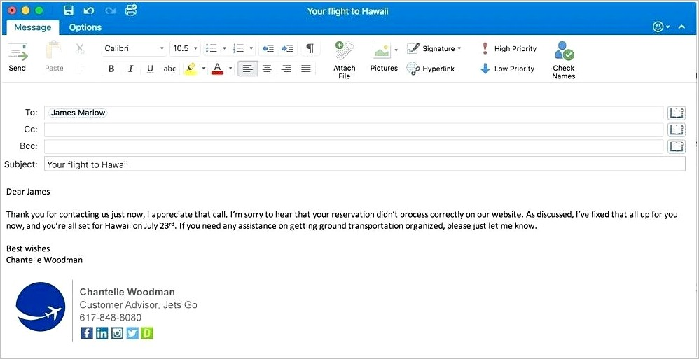 Cool Email Signatures Templates