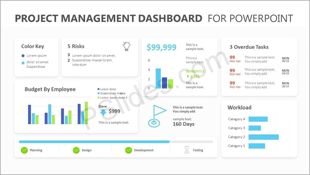 Dashboard Ppt Templates Free